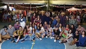 Arraiá GM homenageia Elba Ramalho